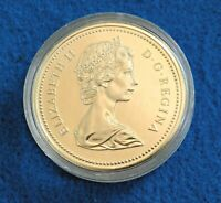 1975 Canada Dollar - Calgary Commemorative - Silver - Beautiful UNC Coin