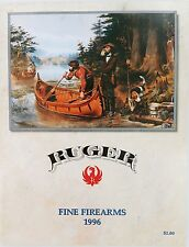 1996 RUGER FINE FIREARMS 34 PAGE GLOSS COLOUR CATALOGUE. NEW OLD STOCK. MINT !