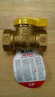 "GAS VALVE, SHUT OFF VALVE, 3/4"" NPT, UL, 1/4 TURN BALL VALVE, GAS, PROPANE"