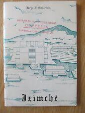 Iximché, capital del antiguo reino Cakchiquel Guatemala GUILLEMIN 1965