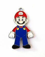 16 pcs station Super Mario Charms Earrings Pendants DIY Jewelry Making