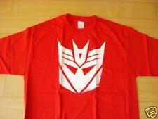 Funny T-shirt Transformer Logo Red Color (Size L)
