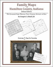 Family Maps Hamilton County Indiana Genealogy IN Plat