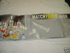 (2) BACARDI LIMON & ASSORTMENT 2x5 WRITE-ON WALL BANNER *NEW*