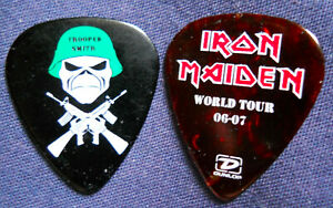 Official TROOPER SMITH '06 IRON MAIDEN GUITAR PICK