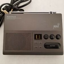 Radio Shack 12-251 Weather Radio SAME Technology 7 Channel NOAA