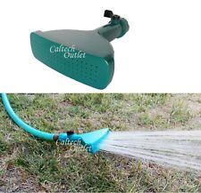 Garden Hose Fan Spray Water Nozzle Sprinkler w/Set Spike Adjustable Valve