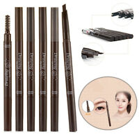 Waterproof Drawing Eye Brow Eyeliner Eyebrow Pen Pencil With Brush Cosmetic Tool