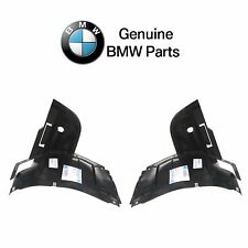 BMW E39 525i 528i Pair Set of Front Left and Right Lower Fender Liner Genuine