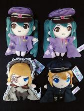 Hatsune Miku Plush Doll Key Chain set of 4 Vocaloid Senbonzakura Miku Rin Len