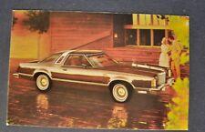 1978 Ford Thunderbird Town Landau Postcard Brochure Excellent Original 78