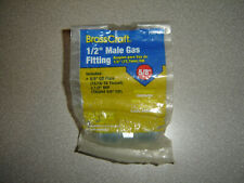 """New listing Brass Craft Pssc-63, 1/2"""" Male Gas 5/8""""od Flare 1/2""""mip Fitting Furnace, Range"""