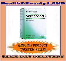 VERTIGOHEEL 50 Tabs  Homeopathic- Dizziness Atherosclerosis Vertigo Nausea