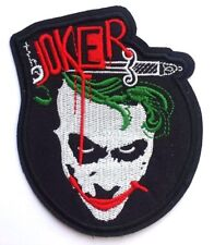 The Joker Patch (4 Inch) Iron on Badge Batman Costume Heath Ledger Dark Knight