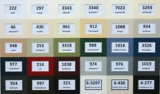 2 - er Pack Passepartout 40x50 cm nach Maß / säurefrei / 1,4mm / 35 Farben
