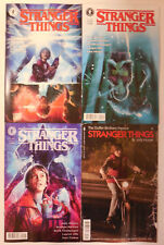 4 x STRANGER THINGS Comic # 1 ~ 4 VARIANT Covers ~ NETFLIX ~ NEW STORY ~ NEW
