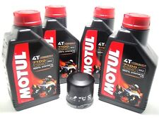SET MANTENIMIENTO 4L ACEITE MOTUL 7100 10W40 +FILTRO YAMAHA MT-09 TRACER ABS 16
