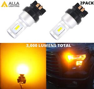 LED Front Turn Signal Light Bulbs Blinker Lamp for Mini Cooper VW Audi Chrysler