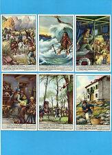 """FIGURINE LIEBIG-ITA 1951-Sang.1514- """"CUORE"""" di E. De Amicis"""