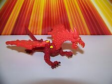 Mighty Max Dragon Island Red Dragon Vintage 90s Bluebird Toys Micro Play Set