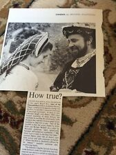 M6-3 Ephemera 1970 Picture Review Film Anne Of A Thousand Days Burton Bujold