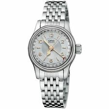 Oris 01 594 7695 4061-07 8 14 30 Women's Big Crown Pointer Date Grey Automatic