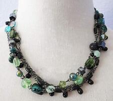 """Lia Sophia Jewelry Herb Garden 5-Strand 17-20"""" Necklace"""