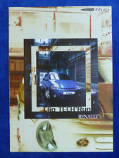 Renault Clio Tech Run - Sondermodell - Prospekt Brochure 08.1999 Frankreich