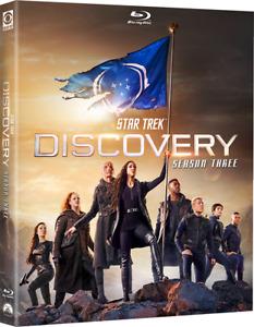 STAR TREK DISCOVERY Season 3 Blu-ray