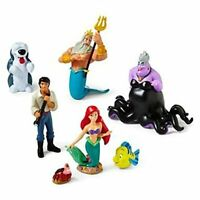 LITTLE MERMAID Figure Play Set DISNEY PRINCESS PVC TOY Cake Toppers ARIEL Ursula