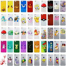 Coque pour iPhone transparent avec Pokemon GO Pikachu Collection motif rigolo