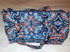NWT Vera Bradley SMALL DUFFEL Travel Bag in MARRAKESH Carry–on 15827-199
