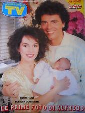 TV Sorrisi e Canzoni n°20 1987 Christian Dora Moroni Primo Scudetto Napoli [D50]
