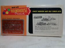 ROUNDHOUSE PRODUCTS #1507 HO SCALE 3 CAR MAINTENANCE OF WAY FIRE FIGHTING TRAIN