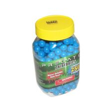 Predator .50 caliber paintballs 250 jar Splatballs Blue splat master
