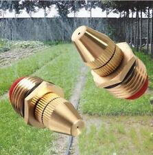 "1/2"" DN15 Adjustable Water Flow Brass Spray Misting Nozzles Garden Spray Head"