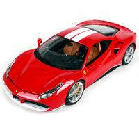 Bburago 1:18 Ferrari 488 GTB 70th Anniversary The Schumacher Diecast Car Model