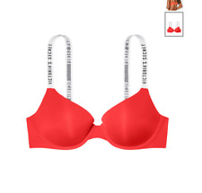 Victoria Secret Push-Up Full Coverage Bra RED 34B