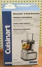 NEW - Cuisinart CFP-16SVSA 8-Cup 350-Watt Elemental 8 Food Processor