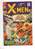 X-Men #15 2ND APP The SENTINELS & ORIGIN of The BEAST! VF 8.0 HIGH GRADE 1965
