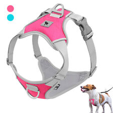 Soft Mesh Dog Harness No Pull Reflective Front Clip Dog Vest Small Medium Large