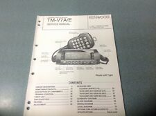 Kenwood T-V7A/E Manual De Servicio