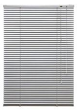Alu Jalousie Fenster Aluminium Metall Jalousette Rollo 100 x 160 cm Silber
