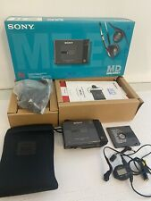 SONY mini-disc MZ-E2 portable MD player recorder walkman IN BOX case WORKS GREAT