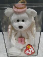 "Ty Warner Very Rare Beanie Baby ""Halo"" With Jewish Priest Accessories"