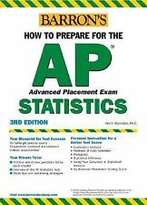 How to Prepare for the AP Statistics by Martin Sternstein (2004, Paperback)