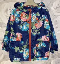Girls Age 2-3 Years - Joules Lightweight Waterproof Coat - Spring / Summer Coat