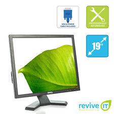 """Dell Black P190S 19"""" 1280x1024 5:4 LCD Monitor w/ Compatible Stand - Grade B"""