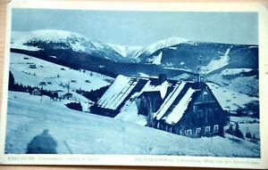 41308 AK Schlesien Riesengebirge Lenzenberg Blick von der Schneekoppe 1935
