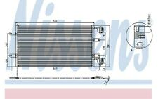 NISSENS Condensador, aire acondicionado OPEL RENAULT TRAFIC NISSAN 94678